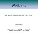 Wat is een dNAA protocol